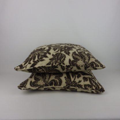 Black Linen Sanderson Cornucopia Cushions