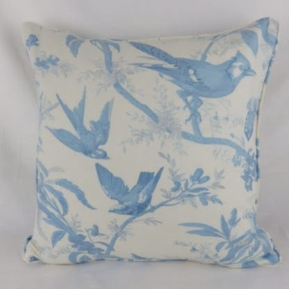 Woodland Birds Paradisiers Marvic Textiles Toile Cushions
