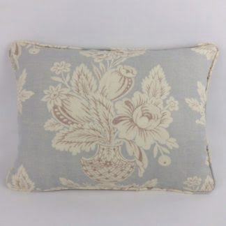 Blue Floral Vase Tamerlane Hodsoll McKenzie Lumbar Cushions