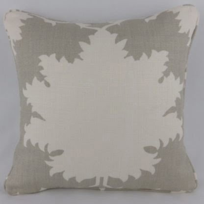 Schumacher Garden of Persia Linen Cushion