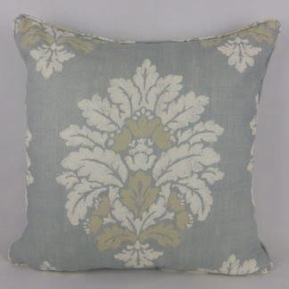 Blue Colefax Fowler Buckland Linen Cushion