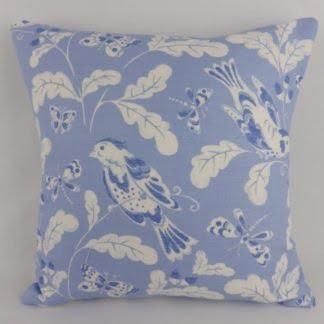 Blue SongBird Jane Churchill Cushions