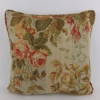 Vintage Cottage Garden Floral Cushions