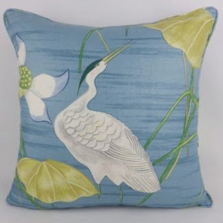 Large Sanderson Heronsford Heron Cushion