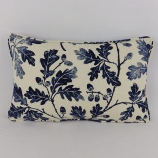 Indigo Blue Sanderson Oakwood Cushion
