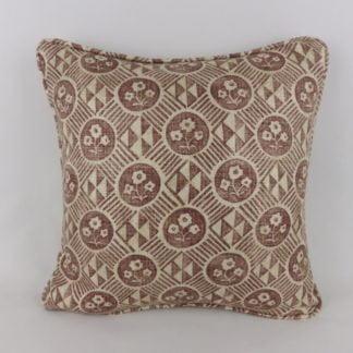 Zoffany Diamonds and Flowers Cushion