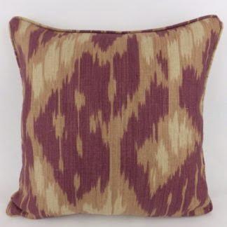 Zoffany Simla Ikat Linen Cushions
