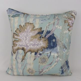 Under the Sea Blue Fish Cowtan and Tout Maralago Cushions