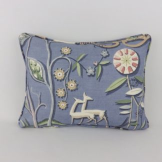 Blue Thibaut Providence Deer Bird Scandi Cushions
