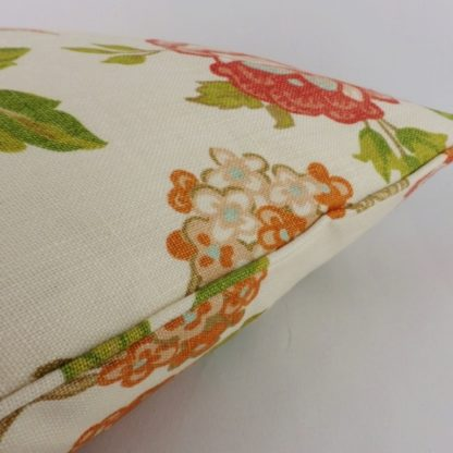 Huntington Gardens Schumacher Orange Bird Linen Cushion