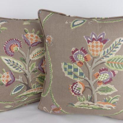 Cowtan Tout Caramoor Brown Cushions