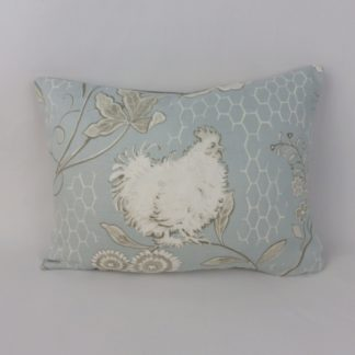 GP & J Baker Bantam Toile Duck Egg Blue Cushions