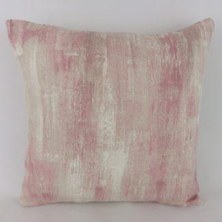 Blush Pink Abstract Cushion