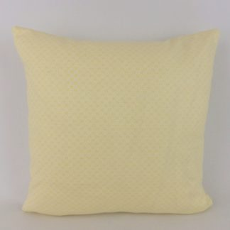 Yellow Daisy Floral Fabric Cushion