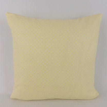 Yellow Daisy Floral Fabric Cushion