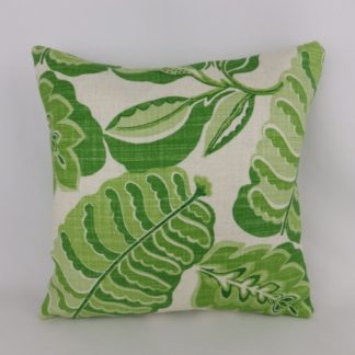 Green Sanderson Fitzroy Fabric Cushion