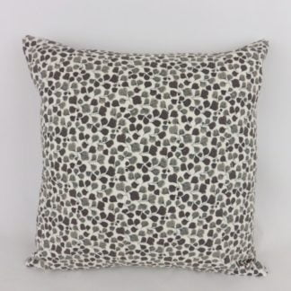 Charcoal Grey Sanderson Amy Fern Leaf Cushion