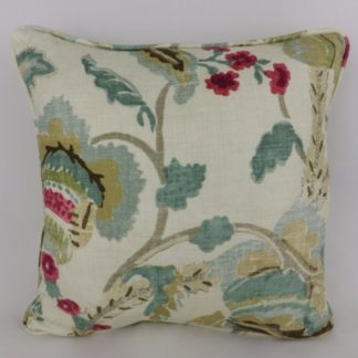 Duck Egg Blue Green Tree of Life Cushions