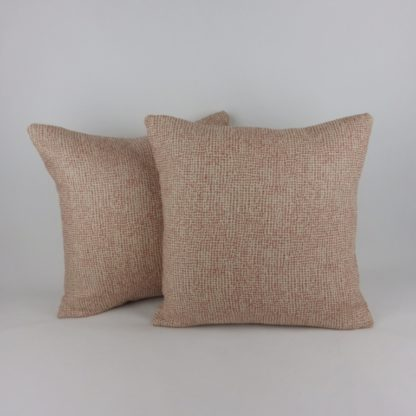 Red Irregular Spot Linen Pillow Cushions
