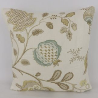 Neutral Gold Sanderson Roslyn Linen Cushions