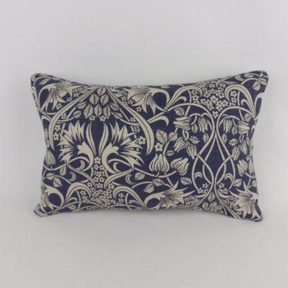 GP J Baker Fritillerie Blue Vintage Floral Cushions