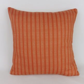 Orange College Stripe Flamant Arte Cushions