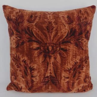 Zoffany Knole King's Closet Velvet Fabric Large Cushion