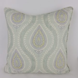 Duck Egg Blue Colefax and Fowler Anise Cushions