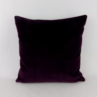 Deep Purple Velvet Cushions
