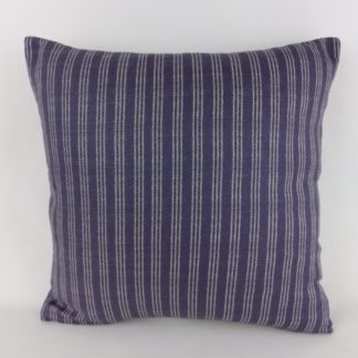 Navy Blue Stripe Cushions