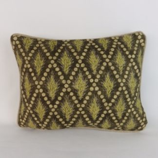 Rustic Wheat Linen Lumbar Cushion