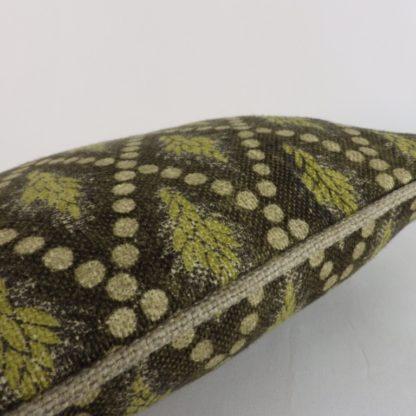 Rustic Wheat Linen Lumbar Cushion