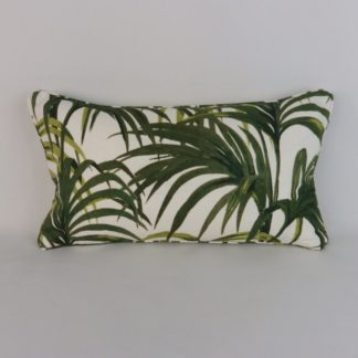 Hothouse Palm Lumbar Cushion