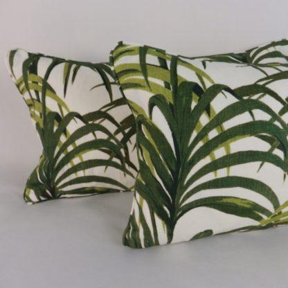 Hothouse Palm Lumbar Cushion