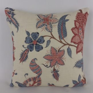 GP & J Baker Bakers Indienne Red Blue Cushions
