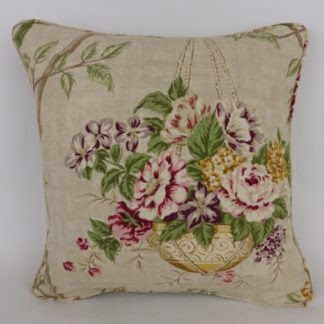 Vintage Floral Basket Cushions