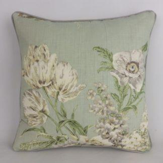 Sanderson Tournier Linen Vintage Floral Cushion