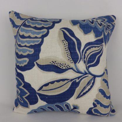 Sanderson Fitzroy Bloomsbury Canvas Fabric Cushions