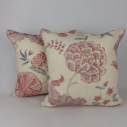 Sanderson Palampore Mauve Rose Indienne Cushions