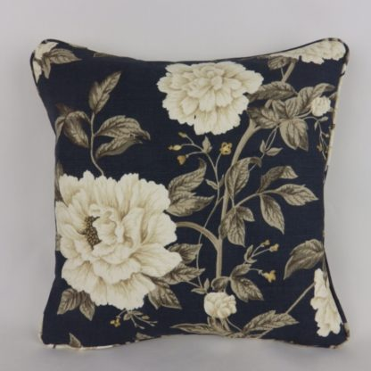 Sanderson Peony Tree Dark Floral Cushions