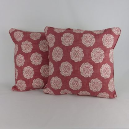 William Yeoward Barrameda Musk Soft Red Cushion