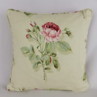Sanderson English Rose Fabric Cushion