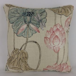Zoffany Lotus Flower Cushion