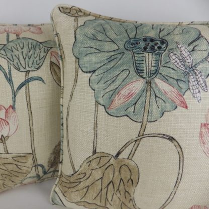 Zoffany Lotus Flower Cushion