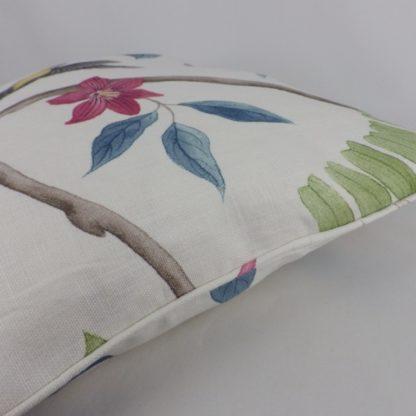 Sanderson Clementine Bird Floral Cushion