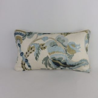 Yorkshire Fabric Travers Steel Blue Cushion