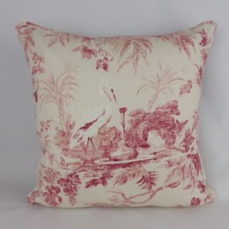 Aesops Fables Sanderson Toile Cushions