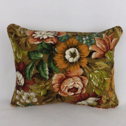 Vintage Sanderson Autumn Floral Cushions