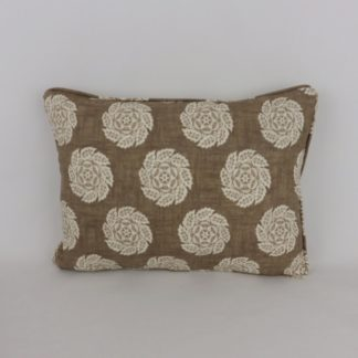 William Yeoward Barrameda Biscuit Brown Cushion