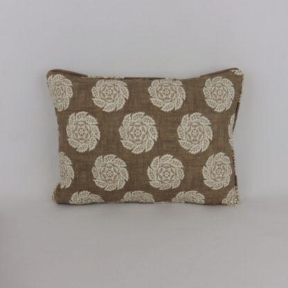 William Yeoward Barrameda Biscuit Brown Cushion